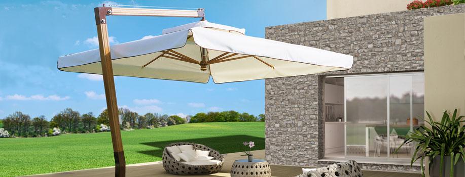 Produzione ombrelloni in legno giardini veneti s n c for Ikea ombrelloni terrazzo