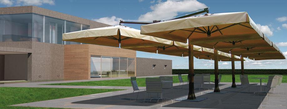 Produzione ombrelloni in legno giardini veneti s n c - Ombrelloni da giardino ikea ...